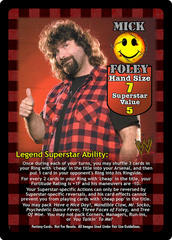 Mick Foley Superstar Card